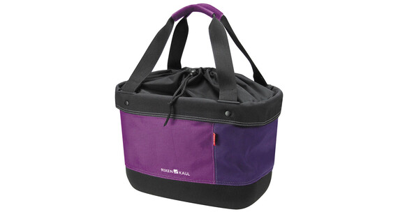 KlickFix Shopper Alingo Cykeltaske violet